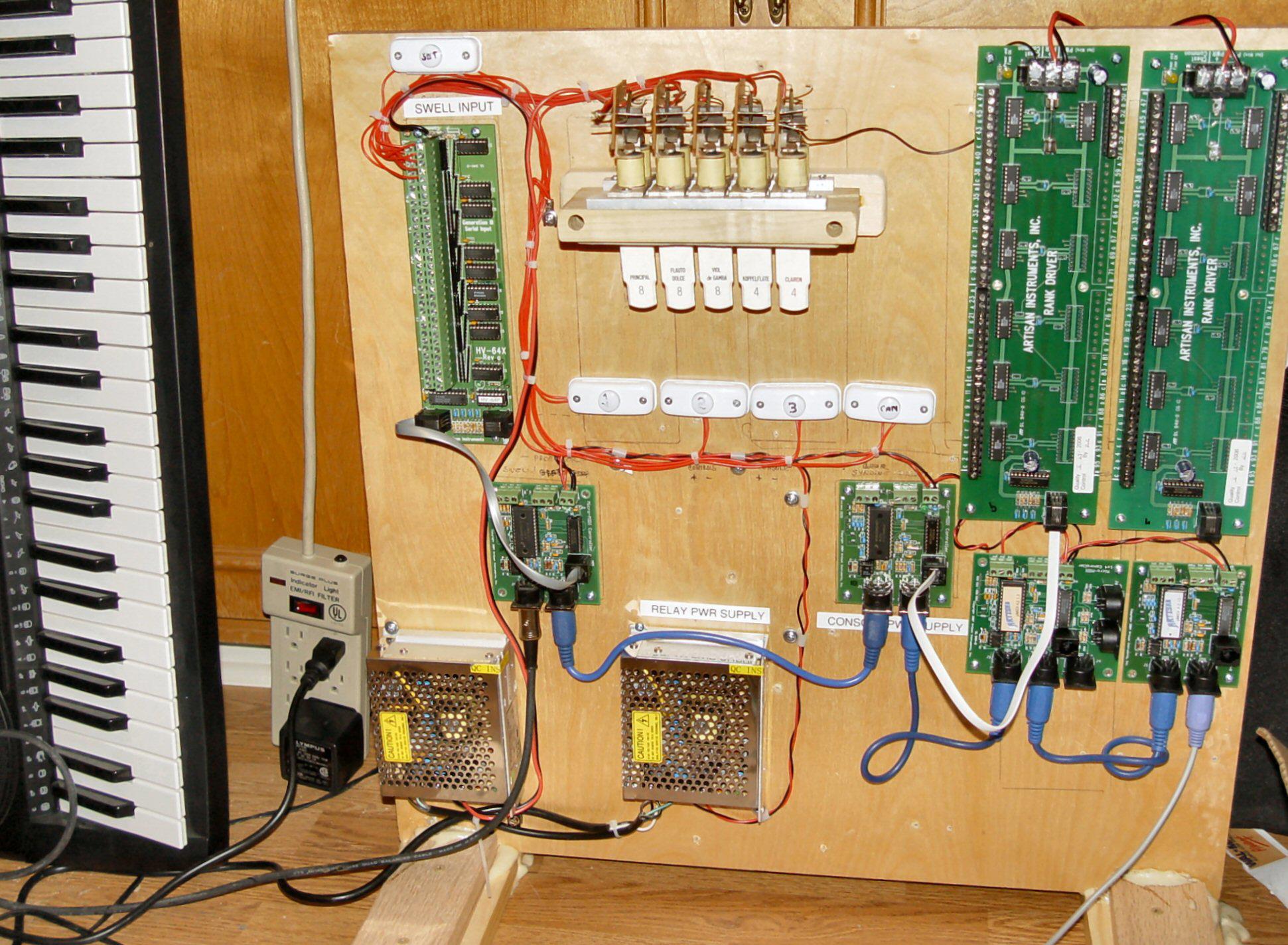 electronic pipe organ electronic wiring diagram free