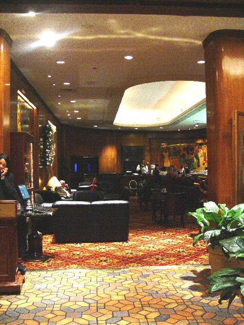 Blue Room Fairmont Hotel New Orleans